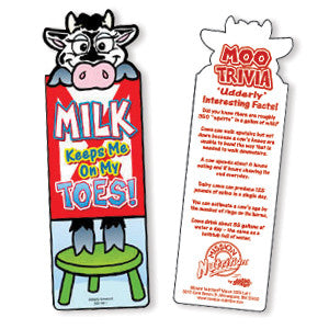 Milk/On My Toes Bookmark