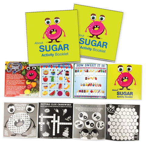 About Sugar Activity Booklet