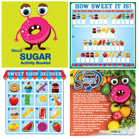 About Sugar Nutrition Activity Booklet