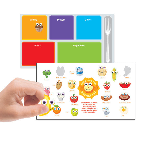 MyPlate Create Your Tray Breakfast- Make a Scene