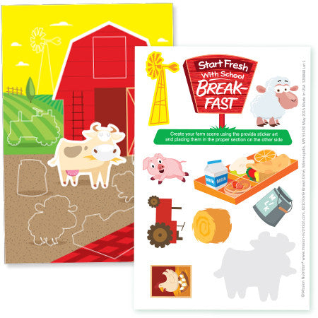 Make A Scene- Sticker Activity Sheet