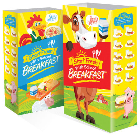 Start Fresh with Breakfast Super Sacks