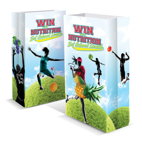 Win with Nutrition, Eat School Lunch Super Sack