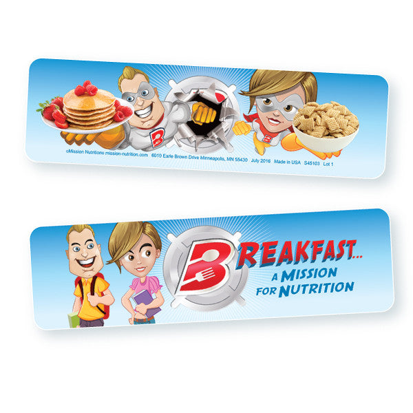 National School Breakfast Week- 3D Bookmark