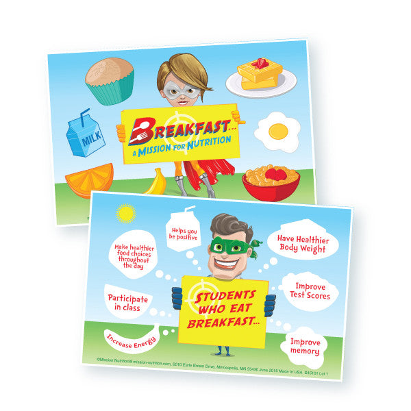 National School Breakfast Week Sticker Make-a-Scene