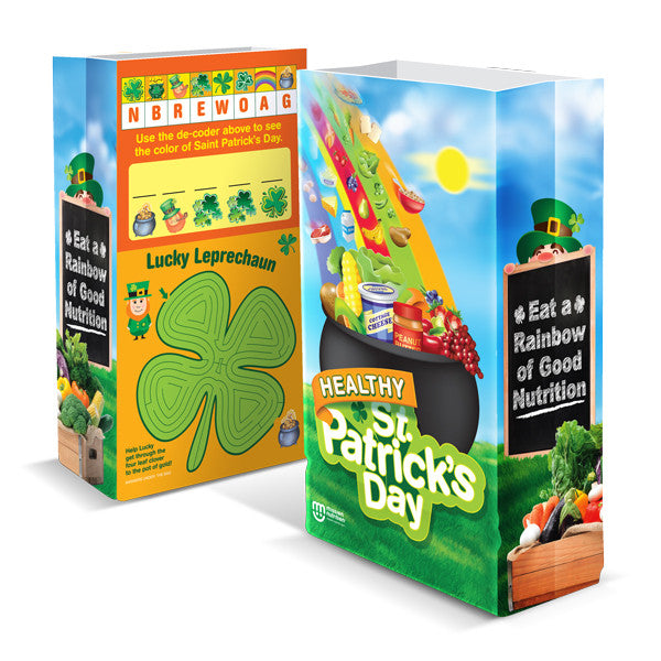 Healthy St. Patricks Day Super Sack