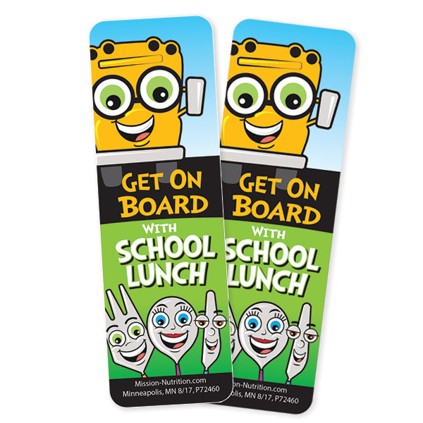 School Lunch- Bookmark