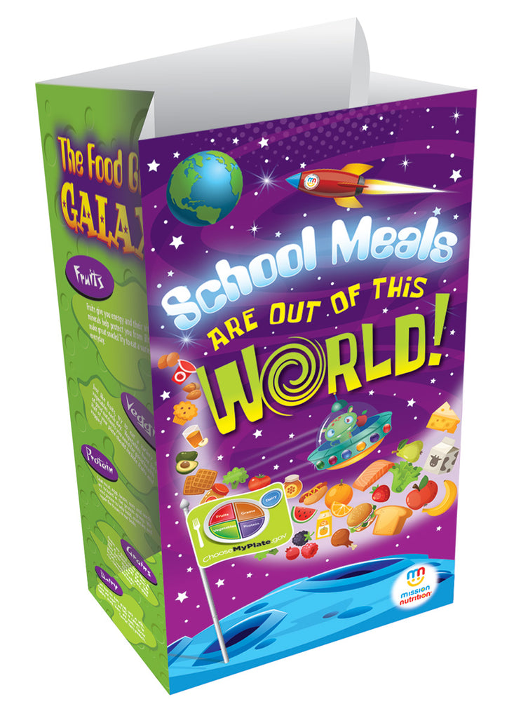 School Meals are Out of This World! Super Sack