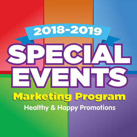 2018-2019 Special Events Marketing Program