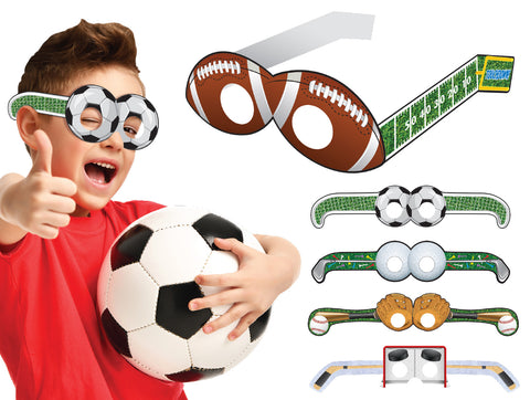 Fitness and Sports - Silly Glasses