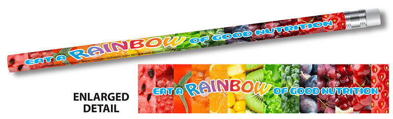Eat a Rainbow of Good Nutrition! Pencil