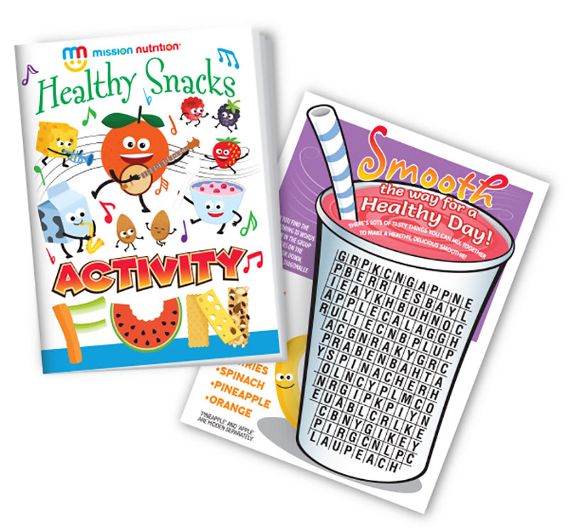 Healthy Snacks Rock! Activity Booklet