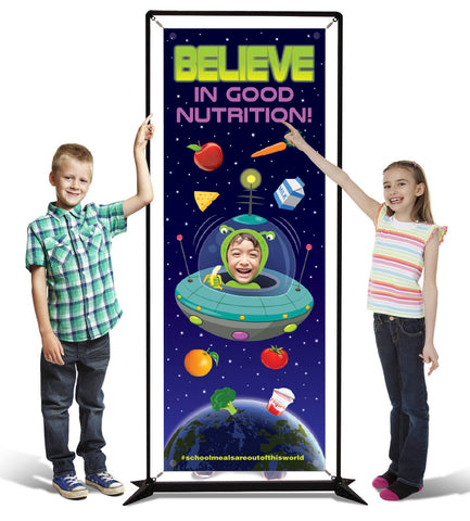 Banner Believe In School Nutrition