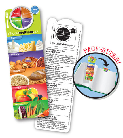 MyPlate Bookmark