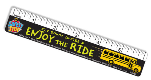 Enjoy the Ride Ruler! Ruler/Bookmark