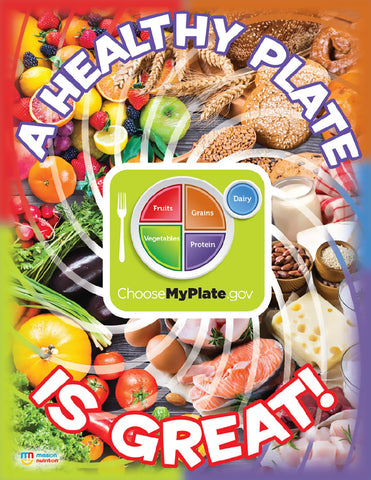 A Healthy Plate is Great- Poster