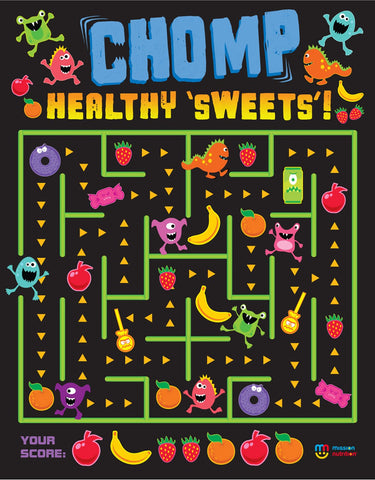 Chomp Healthy Sweets- Poster
