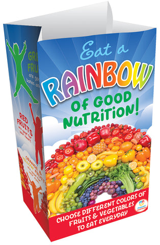 Rainbow of Good Nutrition Super Sack - Paper Bag