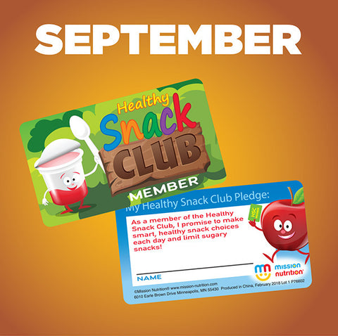 Snack Club Membership Card