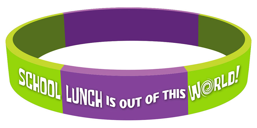 School Lunch is Out of this World! – Wristbands
