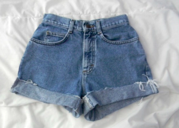 Plaino High waist shorts