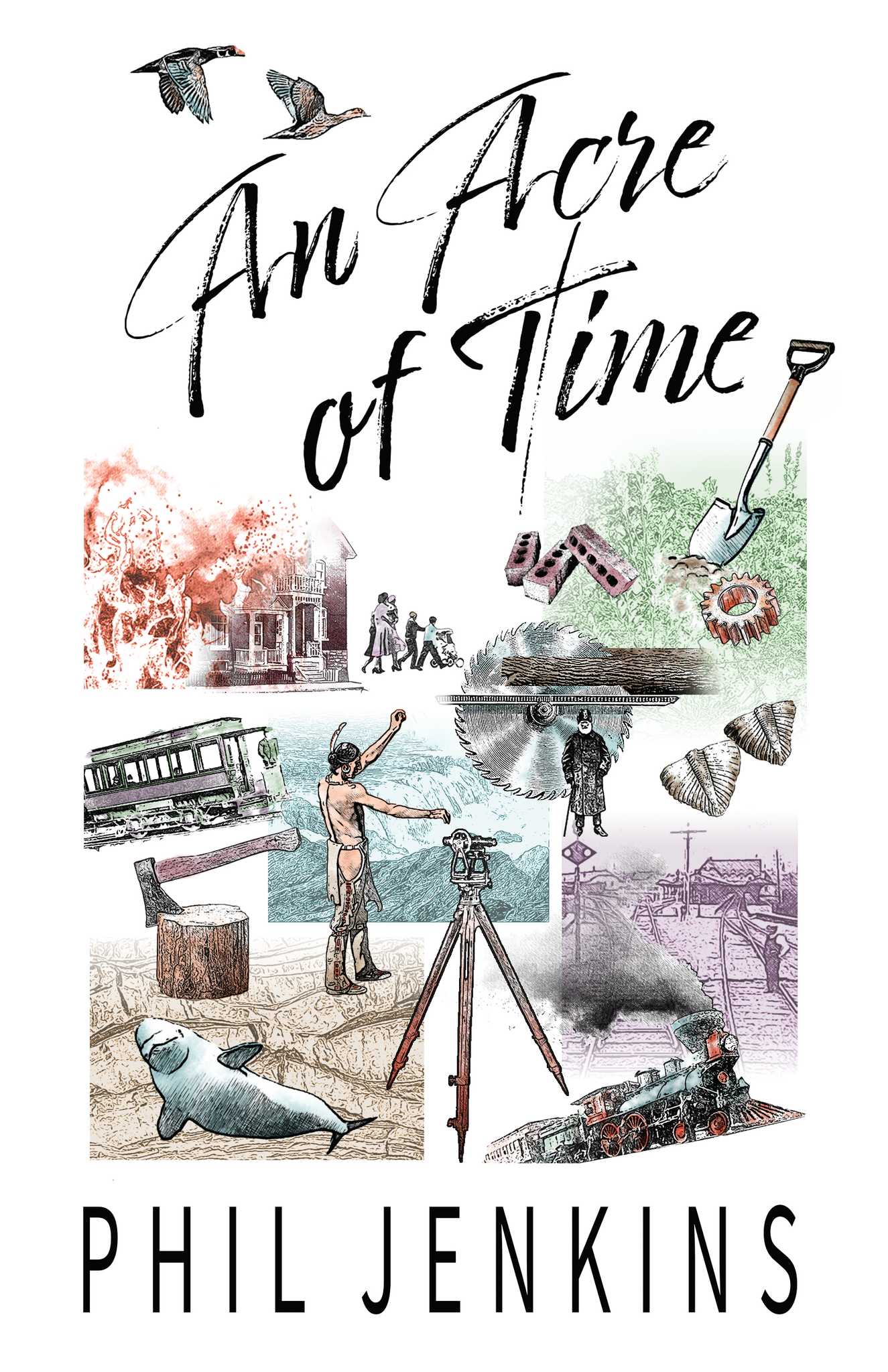 An Acre of Time by Phil Jenkins (Print Book)