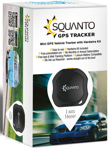 Motorbike and Classic Car / Vehicle GPS Tracker - SQ-003
