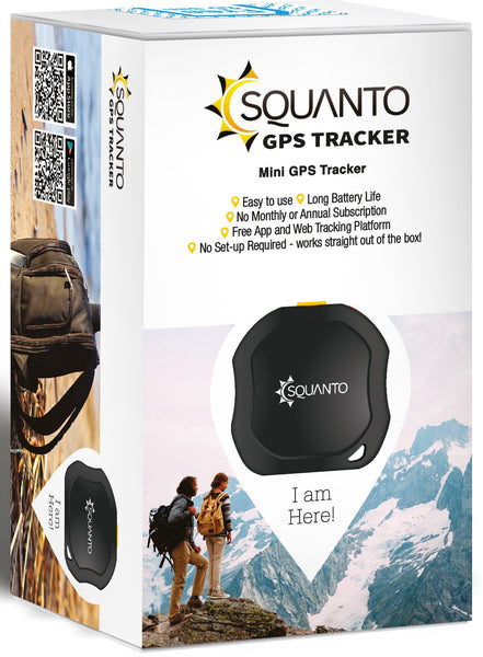 GPS Tracker - People, Pets & Property - SQ-001