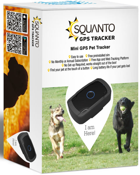 Smallest GPS Pet Tracker (for small to large pets) SQ-004
