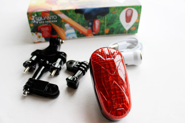 Covert Bicycle GPS Tracker - hidden in working LED tail light - SQ-005