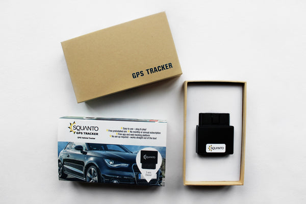 OBD II Plug & Play GPS Vehicle Tracker - SQ-016