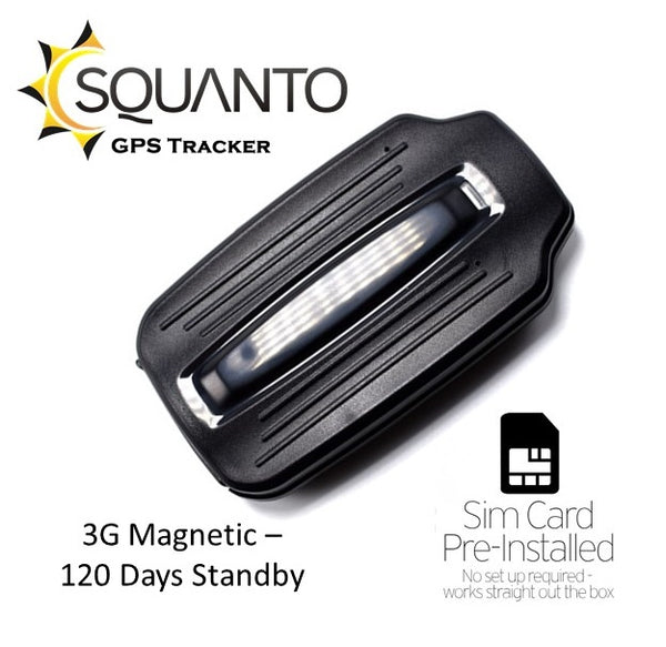 3G Magnetic GPS Vehicle Trailer Caravan Tracker with 4 months standby! SQ-025