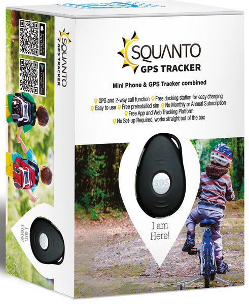 Mini Phone & GPS Tracker in one - perfect for keeping your children safe! SQ-010