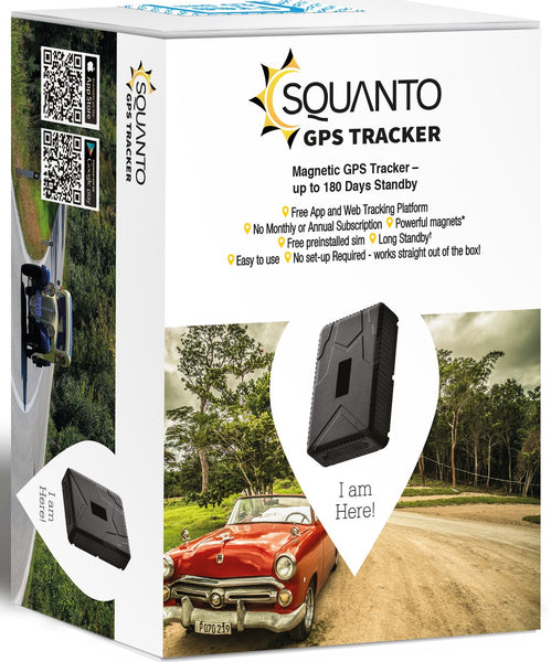 Magnetic GPS Vehicle Trailer Caravan Tracker with 6 months standby SQ-015