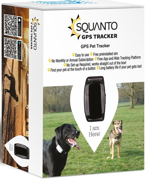 Squanto NEW Waterproof Pet Tracker SQ-024