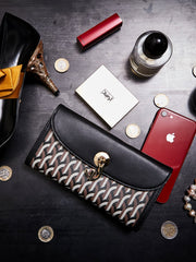 CONTINENTAL WALLET _ Black