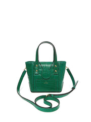 BARKIA BAG _ Nano _ CROCO - Green