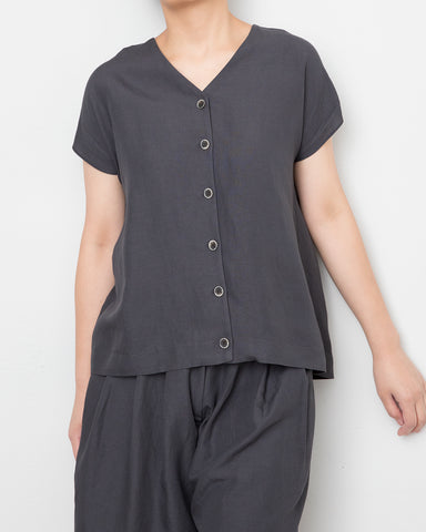 V Neck Shirt + Short (Set)