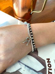 Personalized English Letter Bracelet (925 Silver)