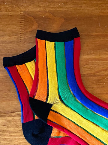 Rainbow Stripe Sock