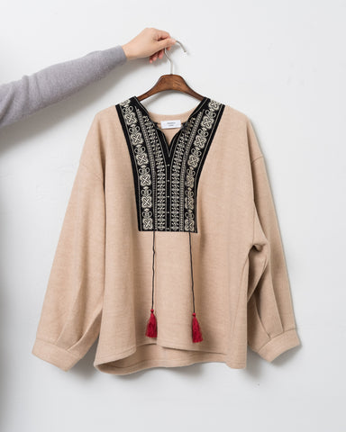 Ethnic Trimmed Top