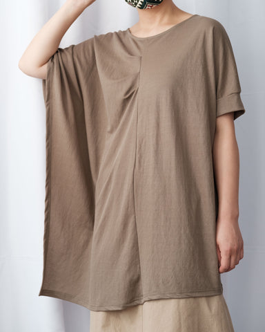 Ruched Details Long Top
