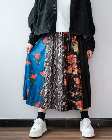Multi Printed Skirt