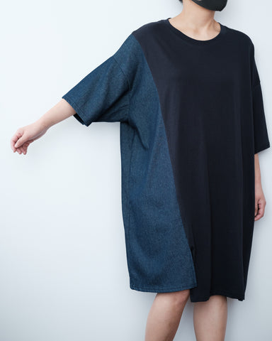 Fabric Mix Tunic
