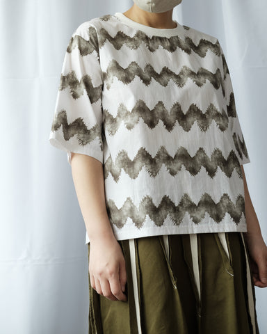 Wave Pattern Top
