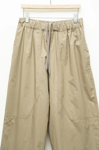 Comfort Drawstring Crop Pants