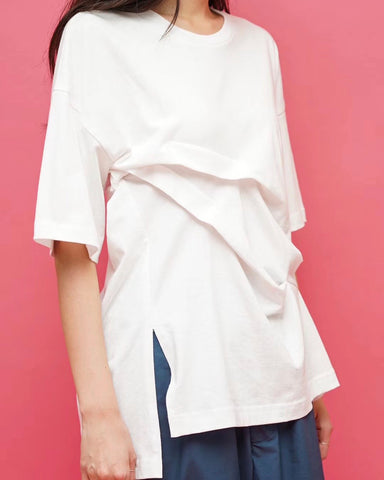 Ruched Details Tee