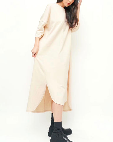 High-Low Cotton Onepiece