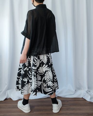 Leaf Pattern Skirt