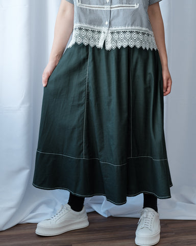 Top Stitch Skirt